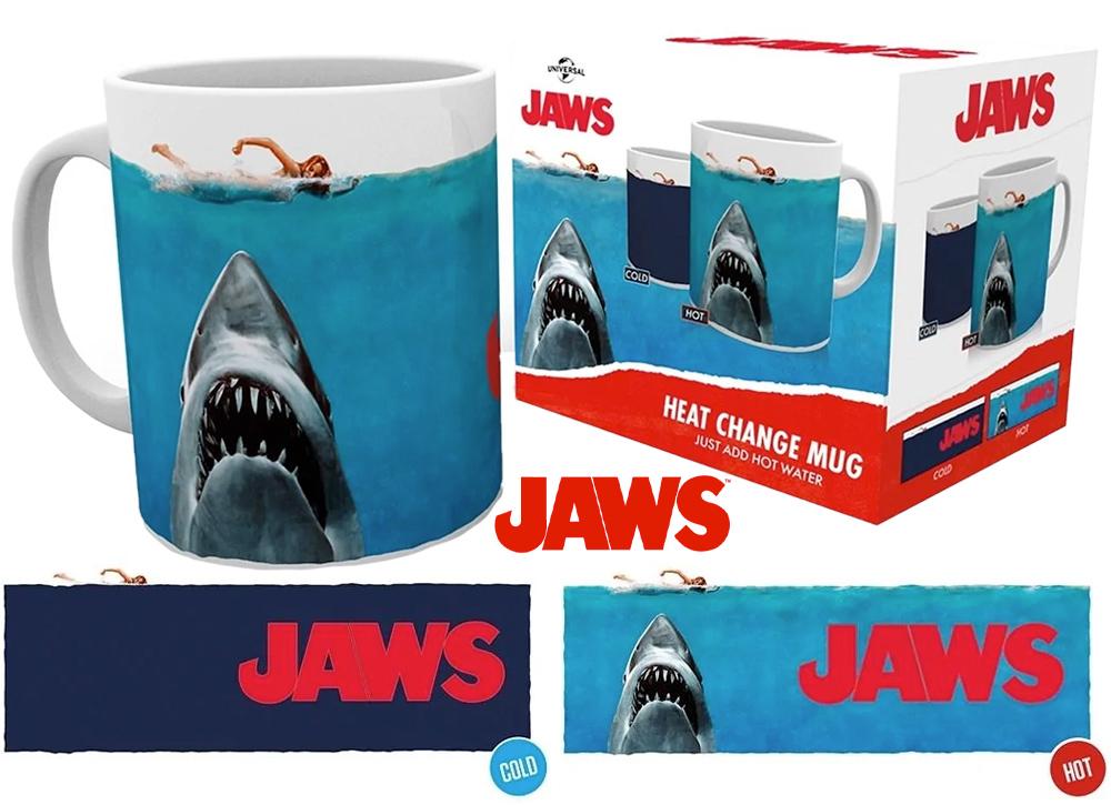 Caneca de Calor Reativa Tubarão Jaws-Heat Changing Mug
