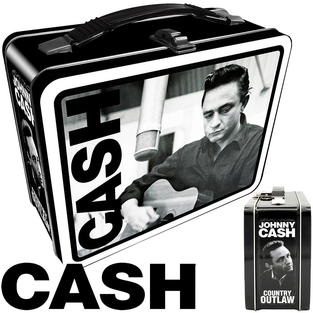Lancheira Johnny Cash, o Homem de Preto