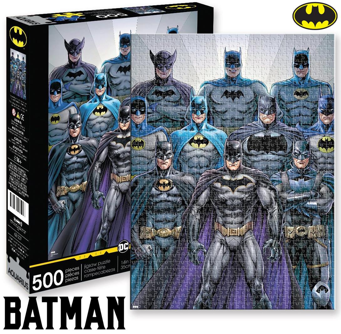 Quebra-Cabeça Batman Batsuits DC Comics 500-Piece Puzzle