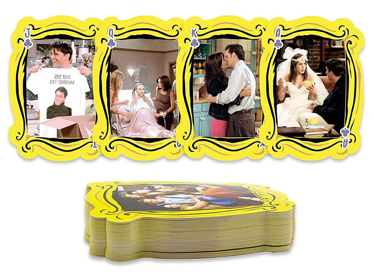Baralho Friends The Television Series Shaped Playing Cards