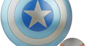 """Escudo Capitão América """"Stealth Shield"""" em Tamanho Real (The Winter Soldier)"""