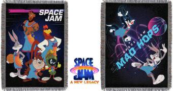 Cobertores de Lance Space Jam 2: Um Novo Legado