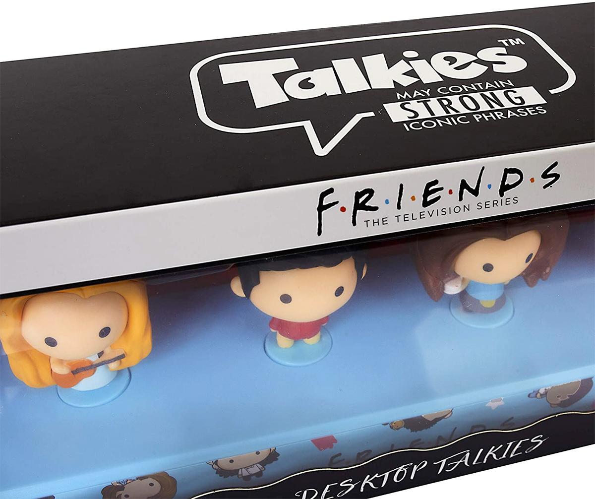 Mini-Figuras Falantes Friends Desktop Talkies com 18 Frases
