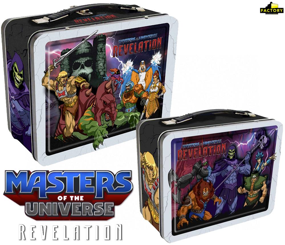 Lancheira da Nova Série Animada Masters of the Universe: Revelation