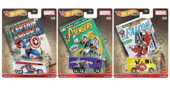 Furgões Hot Wheels Marvel Comics Vintage Pop Culture 2021