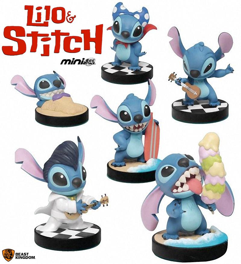 Stitch Mini Egg Attack Beast Kingdom