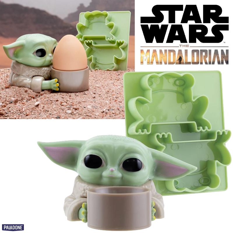 Porta-Ovo Baby Yoda Star Wars: The Mandalorian