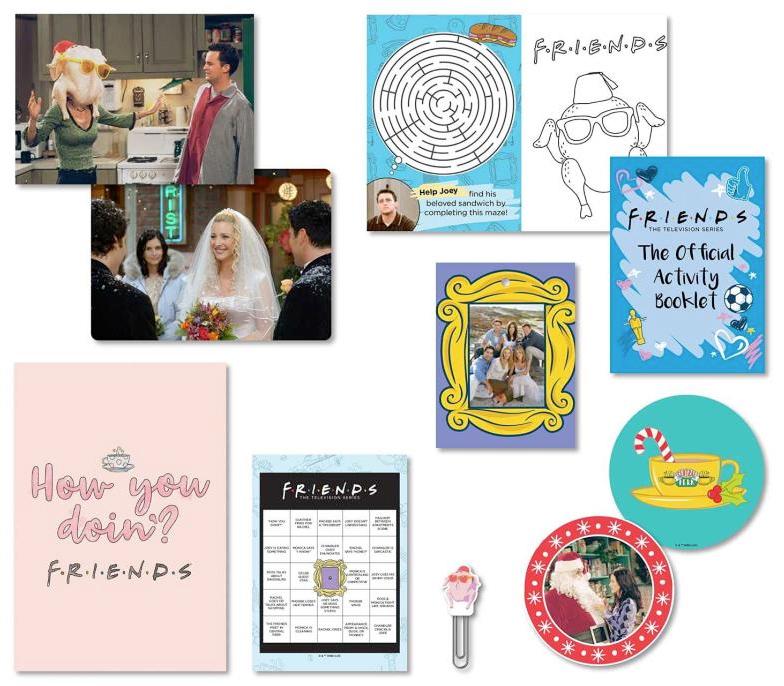 Calendário do Advento Friends Advent Calendar The One With the Surprises