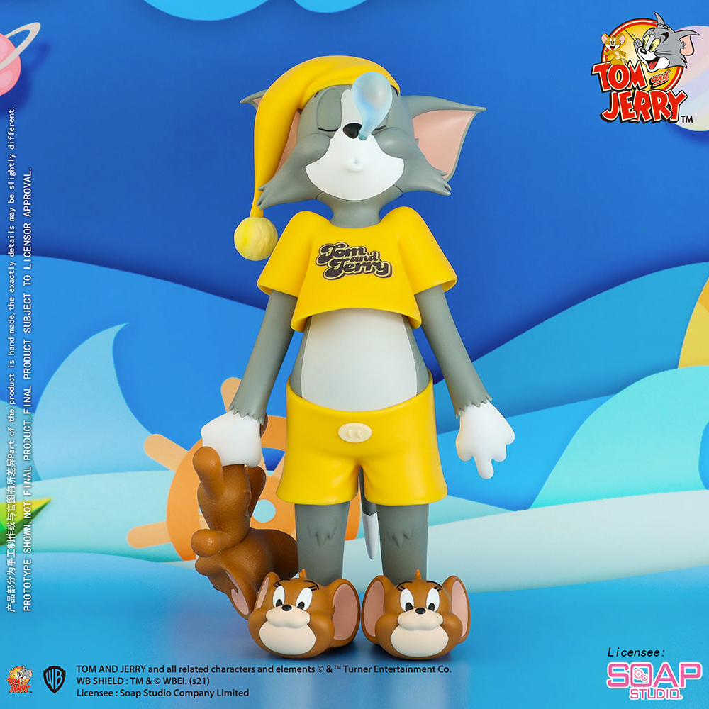Tom & Jerry Soap Studio: Tom Sonâmbulo com Pantufas Jerry