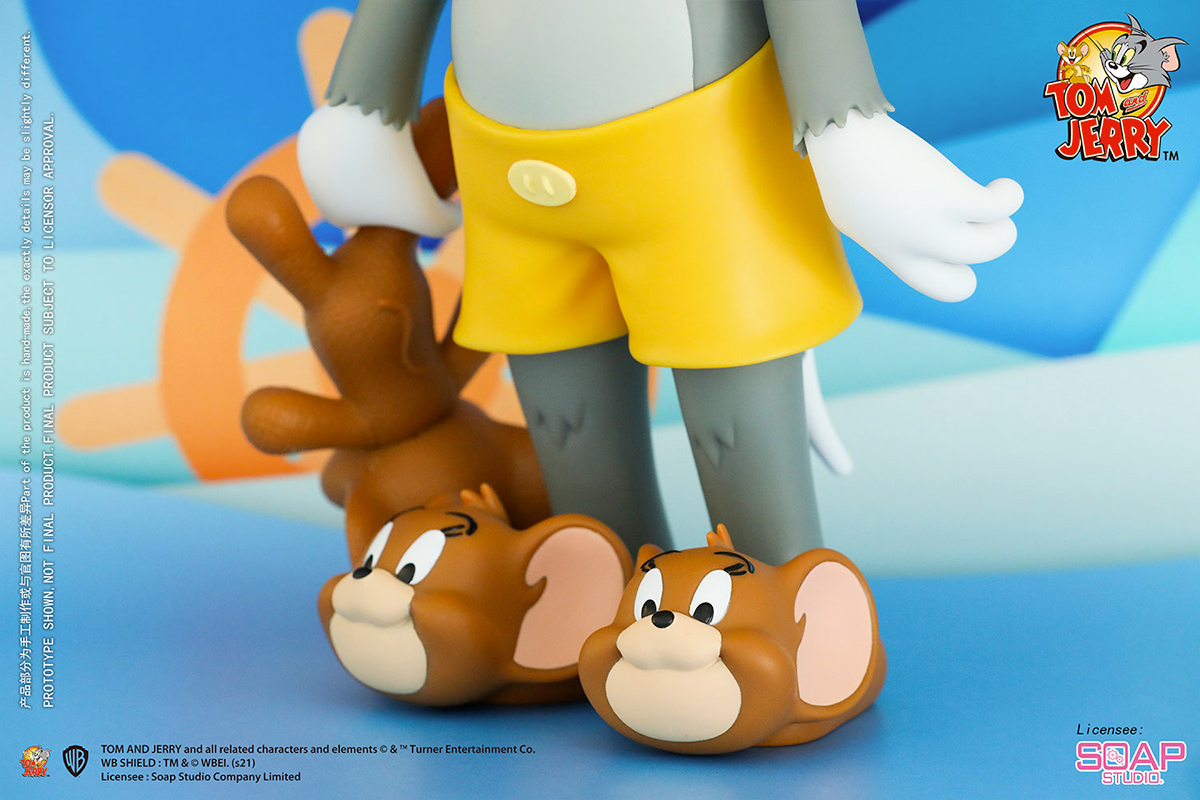 Tom and Jerry Catnap Figure