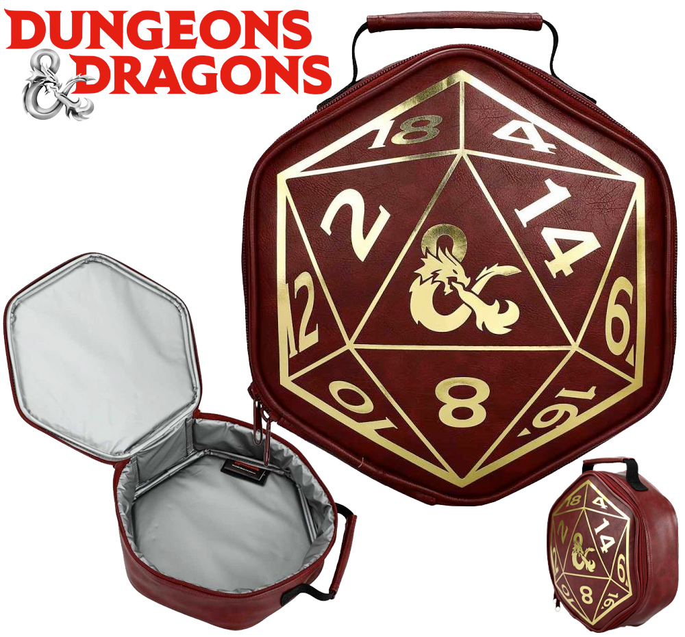 Lancheira Térmica Dungeons and Dragons Dice Lunch Box