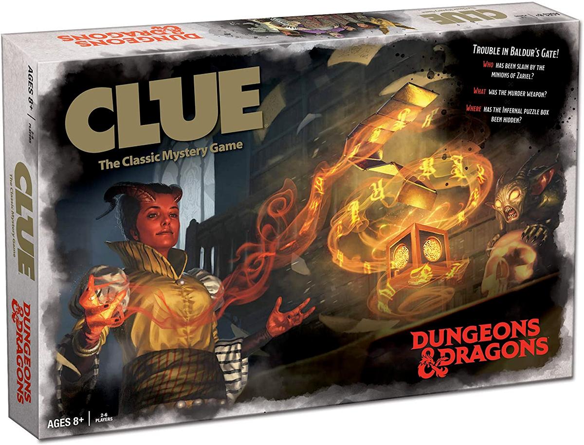 Jogo de Tabuleiro Clue Dungeons & Dragons