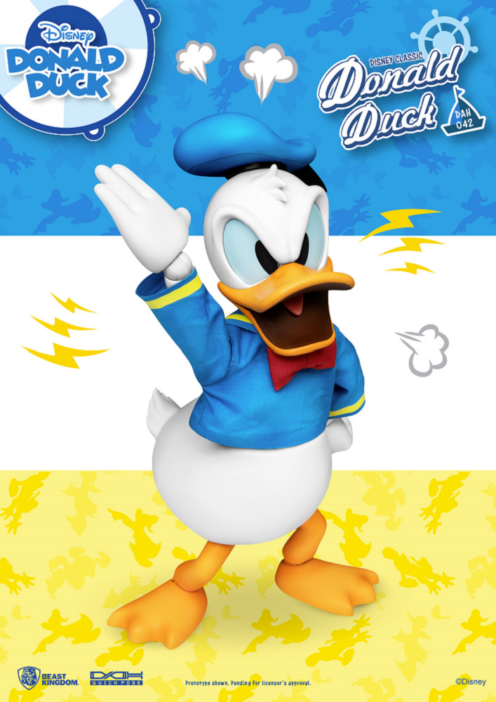 Pato Donald Duck Classic Dynamic Action Heroes Action Figure Beast Kingdom