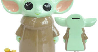 Cofre Baby Yoda de Cerâmica (Star Wars: The Mandalorian)