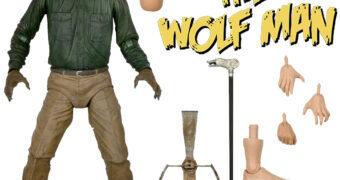 The Wolf Man (Lon Chaney Jr.) 80 Anos – Action Figure Neca Ultimate 7″ Monstros da Universal