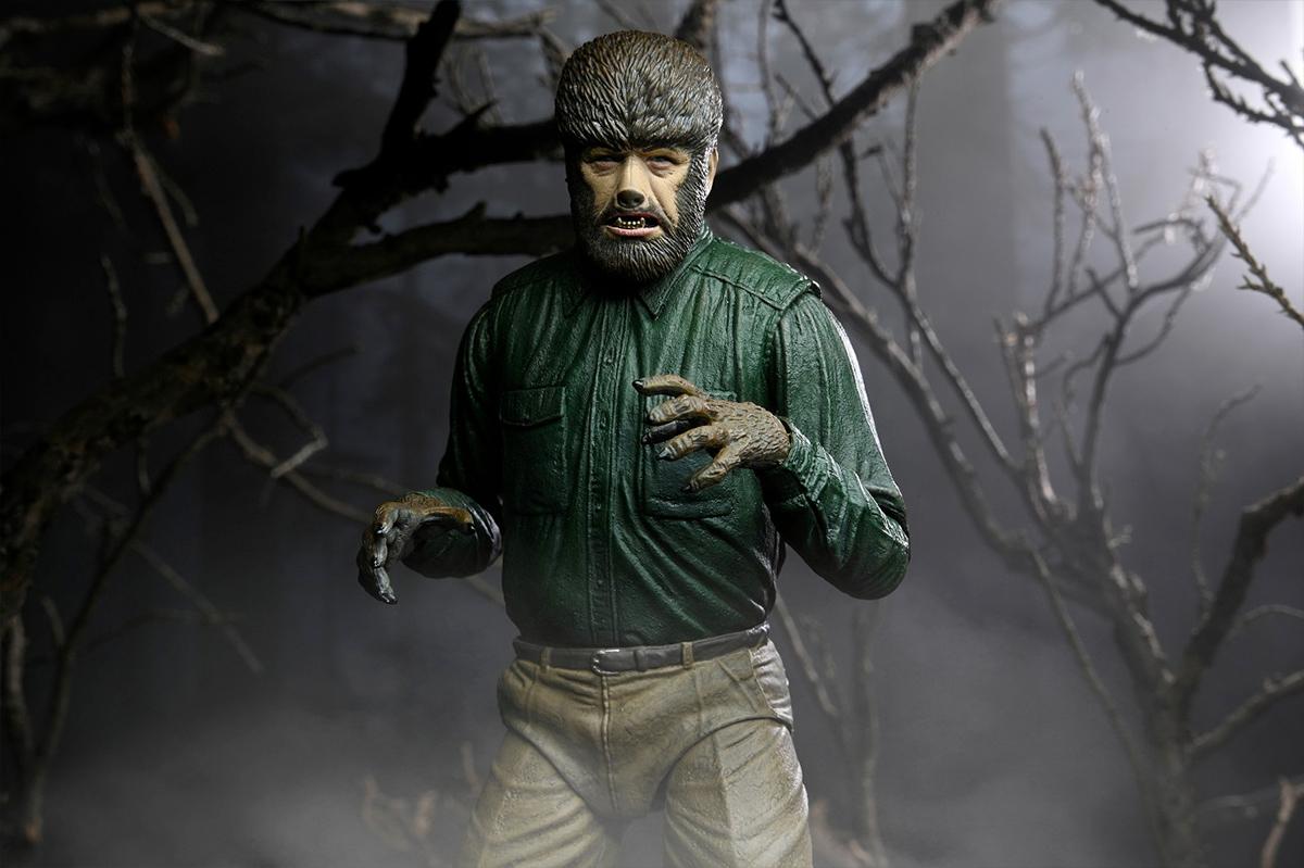 The Wolf Man (Lon Chaney Jr.) 80 Anos - Action Figure Neca Ultimate 7″ Monstros da Universal