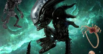 Boneco Alien, o Oitavo Passageiro Mezco Designer Series
