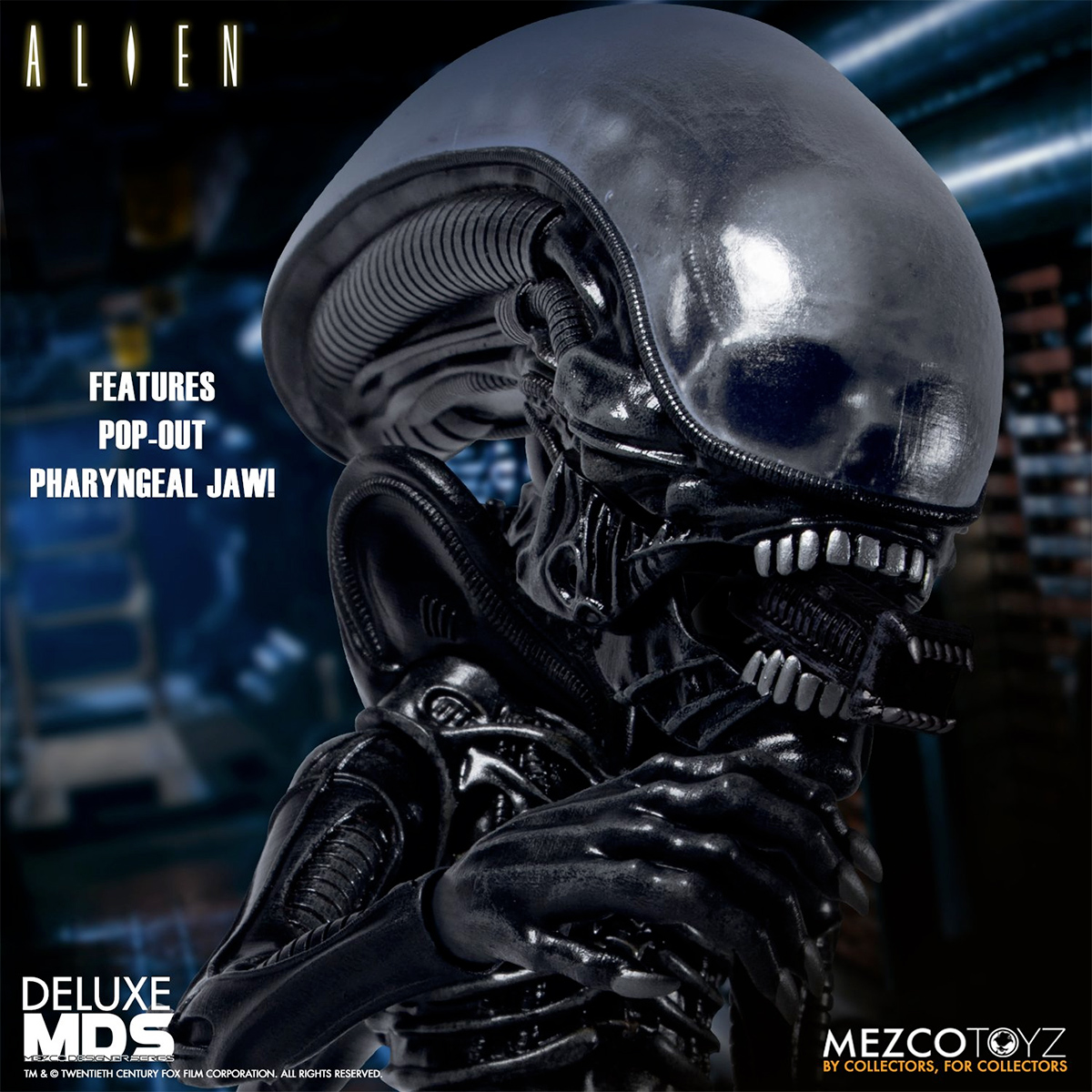 Boneco Alien Deluxe Mezco Designer Series MDS