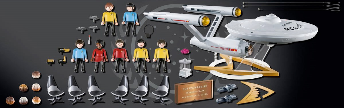 Playset Playmobil 70548 Star Trek USS Enterprise NCC-1701