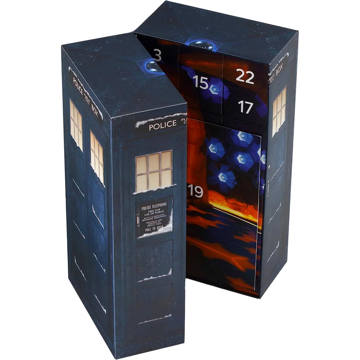 Calendário do Advento Doctor Who TARDIS