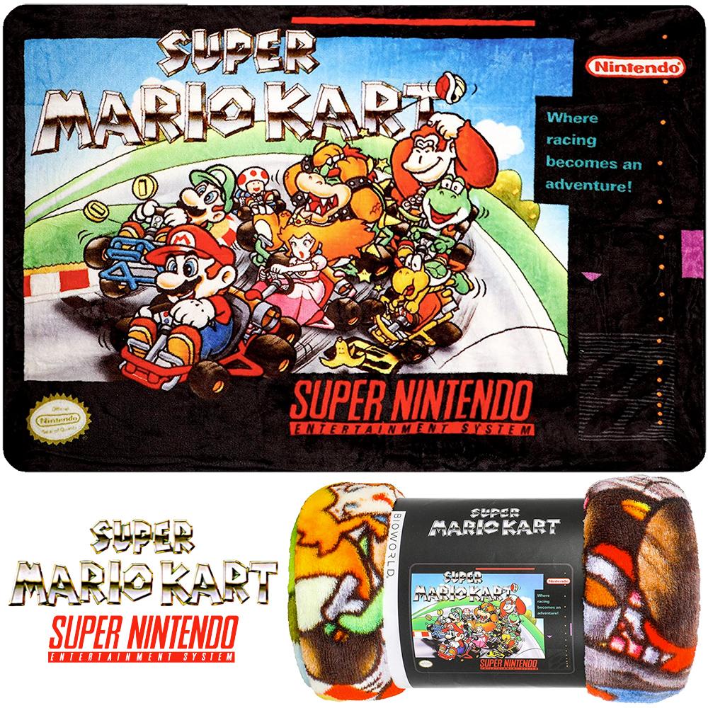 Cobertor de Lance Super Mario Kart (SNES)