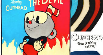 """Cobertor de Lance do Game Cuphead """"Don't Deal with the Devil"""""""