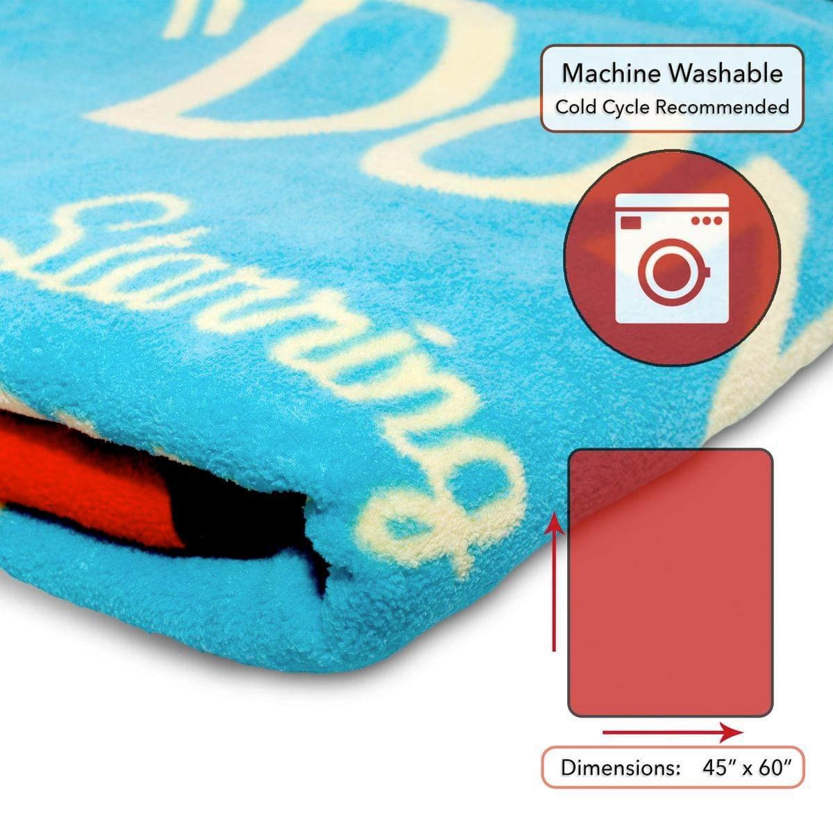 Cobertor de Lance Cuphead Dont Deal with the Devil Lightweight Fleece Blanket