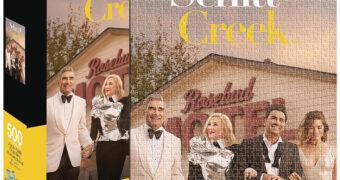 Quebra-Cabeça Família Rose da Série Schitt's Creek com 500 Peças