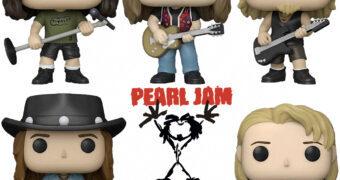 Bonecos Pop! Rocks da Banda Pearl Jam