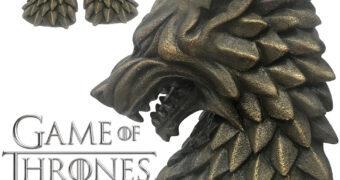Apoios de Livros Game of Thrones: House Stark Direwolf Bookends