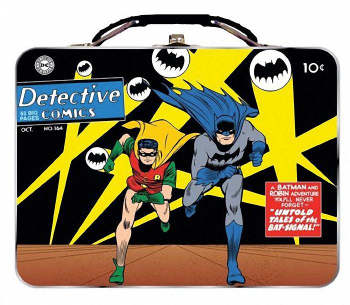 Set Lancheiras Batman: Logo Morcego e Detective Comics #164