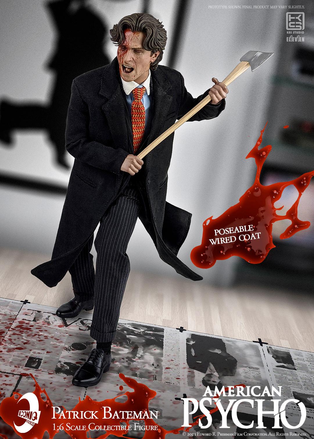Action Figure do Filme Psicopata Americano: Patrick Bateman (Christian Bale)