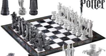 Xadrez de Bruxo (Wizard Chess) de Harry Potter e a Pedra Filosofal