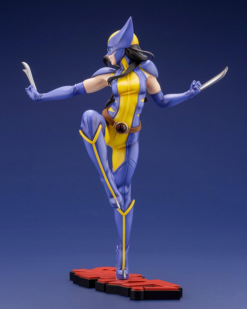 Estátua Wolverine (Laura Kinney) Marvel Bishoujo - Ilustração de Shunya Yamashita