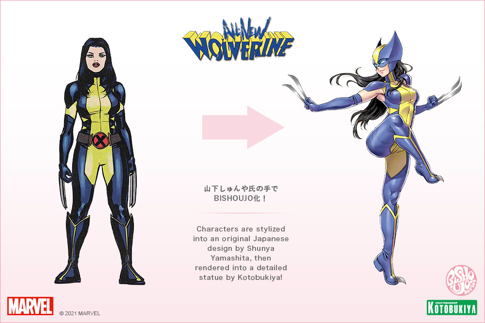 Wolverine (Laura Kinney) Marvel Comics Bishoujo Statue
