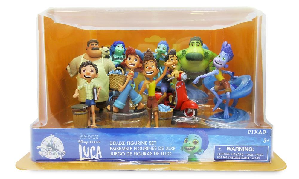 Mini-Figuras Luca, o Novo Filme da Pixar