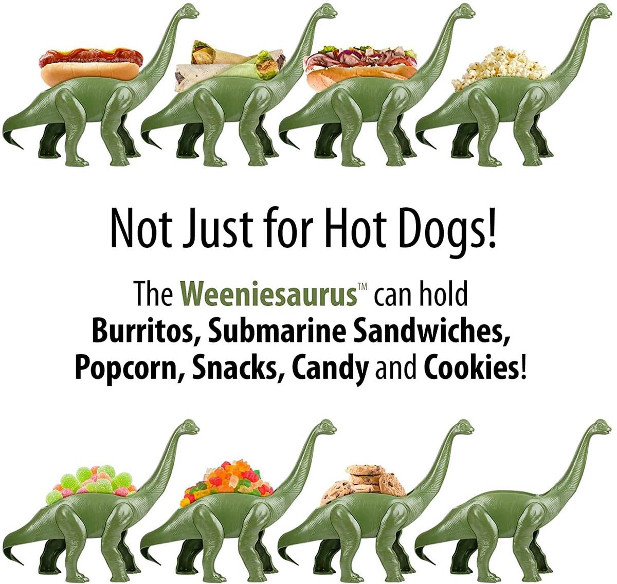 Porta Hot Dog Estegossauro