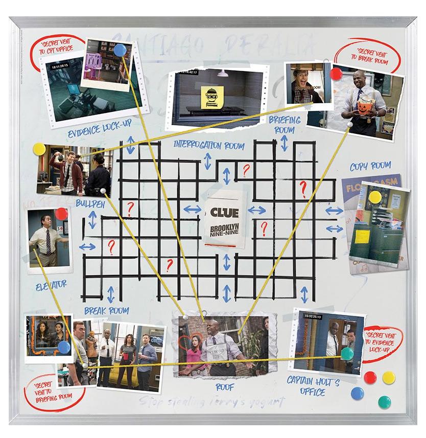Jogo Clue (Detetive) da Série Brooklyn Nine-Nine