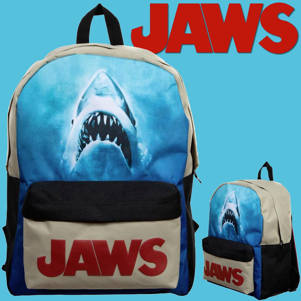 Mochila Jaws com o Grande Tubarão Branco Bruce