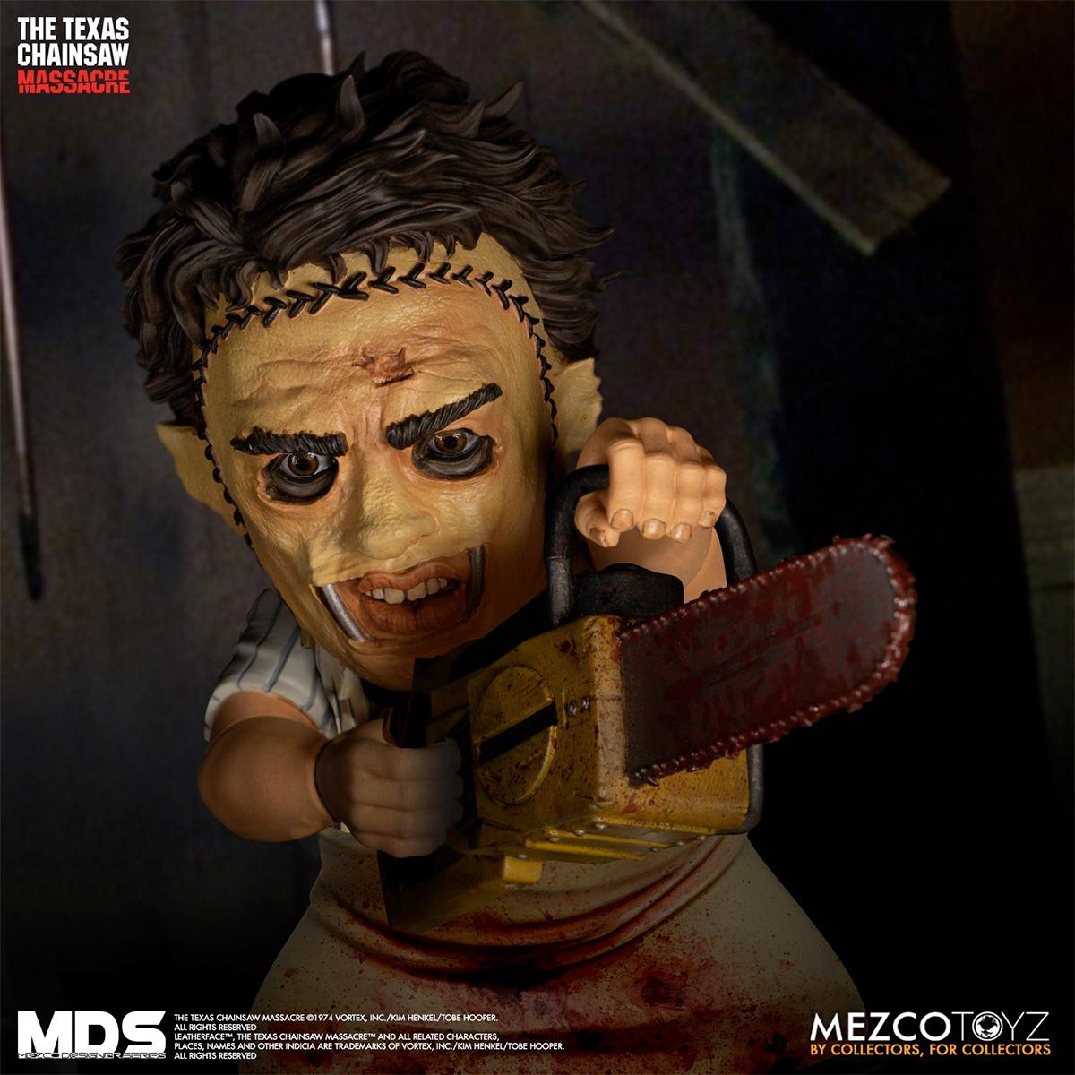 Boneco Texas Chainsaw Massacre (1974): Leatherface Mezco Designer Series