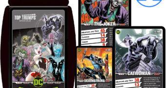 Super Trunfo DC Comics: Super-Vilãs e Super-Vilões