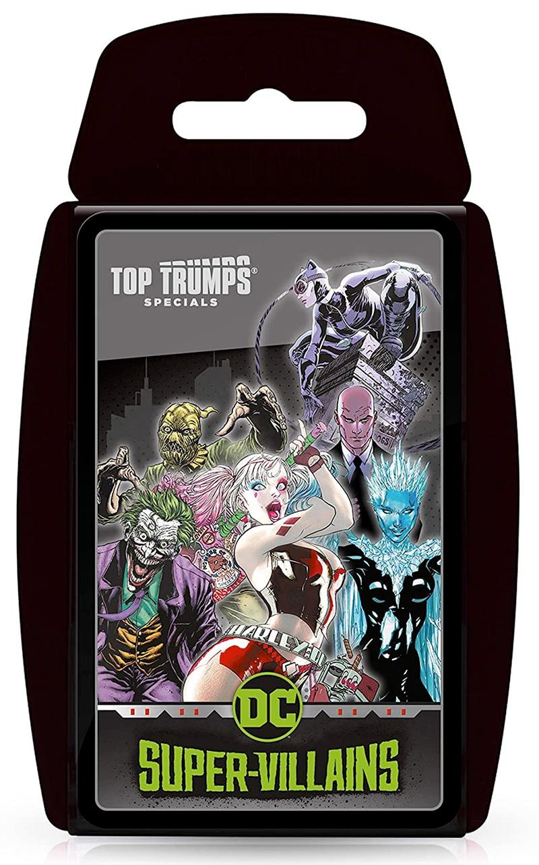 DC Super Villians Top Trumps
