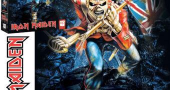"""Quebra-Cabeça Iron Maiden """"The Trooper"""" com 1.000 Peças"""