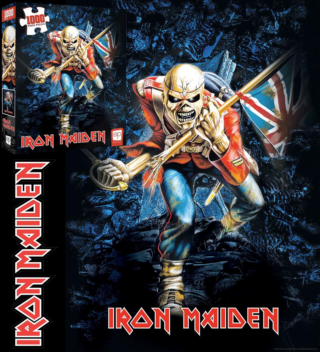 Quebra Cabeca Iron Maiden The Trooper 1000 Piece Puzzle