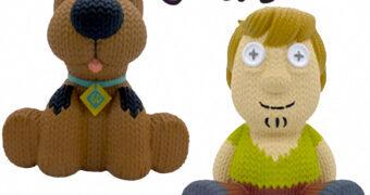 Scooby-Doo e Salsicha Handmade By Robots – Bonecos de Vinil no Estilo Crochê Amigurumi