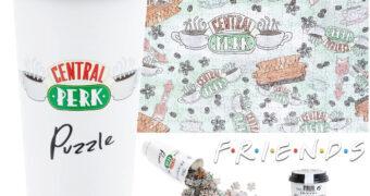 Quebra-Cabeça Friends Dentro de um Copo de Café do Central Perk