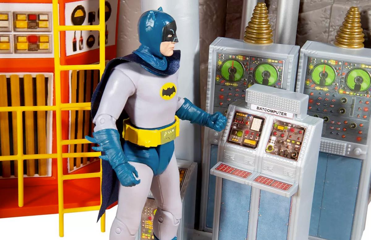Batman 66 Batcave DC Retro Playset