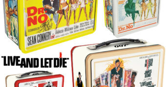 Lancheiras James Bond 007: Dr. No e Live And Let Die
