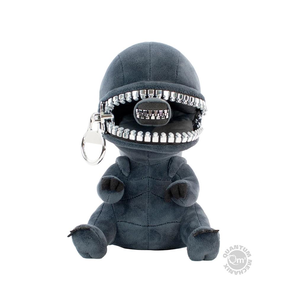 Boneco de Pelúcia Alien Xenomorfo Zippermouth com Boca de Zíper