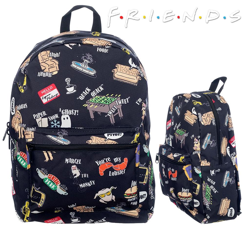 Mochila Friends Icon Print Backpack